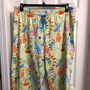HUE Women's Plus Size 2X Pajama/Lounge Pants NWOT